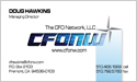 Front Side Business Card - CFO Network